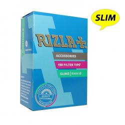 Rizla φίλτρα slims 6,0mm 150 τεμαχίων