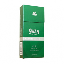 Swan φίλτρα extra slim menthol 5,7mm 120 τεμαχίων