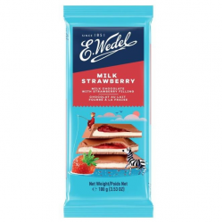 Σοκολάτα E.Wedel Strawberry 100γρ.