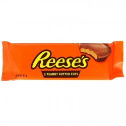 Reese's 3 peanut butter cup σοκολάτα με με φυστοβούτυρο 51γρ.
