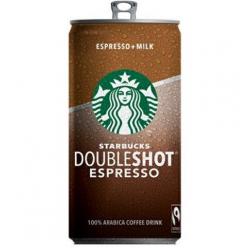 Starbucks doubleshoot espresso + milk 200ml