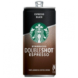 Starbucks doubleshoot black espresso 200ml