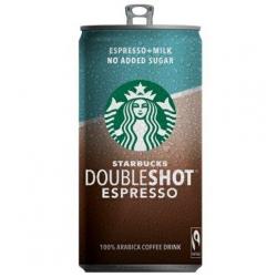 Starbucks doubleshoot no sugar espresso 200ml