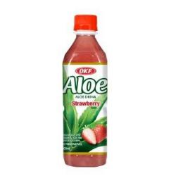 Okf Aloe Vera φράουλα 500ml