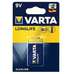 Μπαταρία Varta long life alkaline 9V