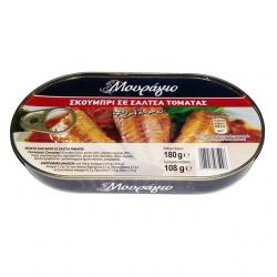 ΜΟΥΡΑΓΙΟ σκουμπρί σε σάλτσα τομάτας 180γρ.