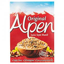 Δημητριακά Alpen MUESLI original 625γρ.