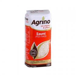 Agrino συσκ. ρύζι Σουπέ Γλασέ Ελλάδας 500γρ.