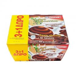ΓΙΩΤΗΣ Ψυγείου Άνθος Αραβοσίτου Σοκολάτα 4x100γρ. (3+1Δώρο)