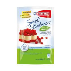 ΓΙΩΤΗΣ Sweet & Balance Κρέμα ζαχαρ. βανίλια φάκελο 85γρ.
