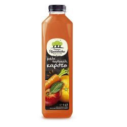 Χριστοδούλου ψυγ. οικογ. μηλο-πορτοκάλι-καροτο 1lt