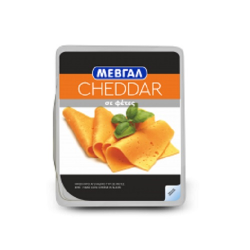 Μεβγάλ τυρί Cheddar σε φέτες 200γρ.