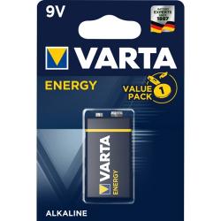 Μπαταρία Varta alkaline 9V