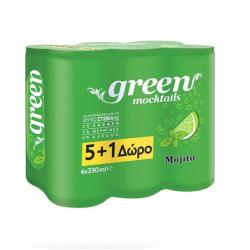 Green Cola Mojito 330ml (5+1Δ)