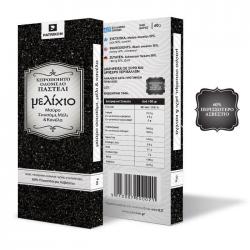 Παστέλι Μελίχιο μαύρο σουσάμι μέλι 60γρ.