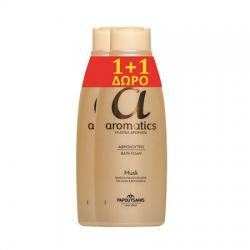 Αφρόλουτρο Papoutsanis aromatics Musk 650ml (1+1Δώρο)