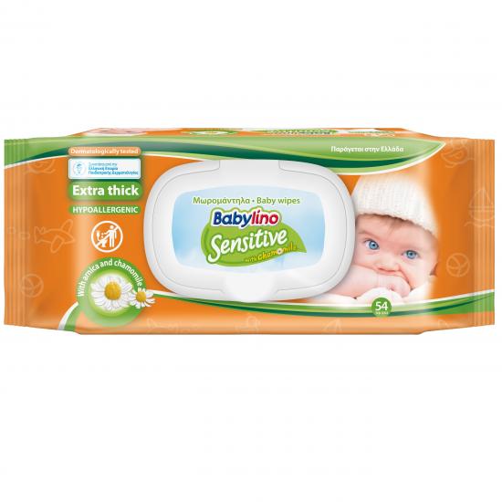 Μωρομάντηλα Babylino Sensitive Refill 54τεμ