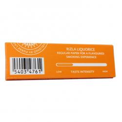 Τσιγαρόχαρτο Rizla γλυκόριζα (liquorice) 50 φύλλων