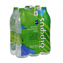 Δίρφυς νερό 6*1,5lt