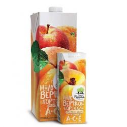 Χριστοδούλου ατομ. πορτοκάλι - μήλο - βερίκοκο 250ml