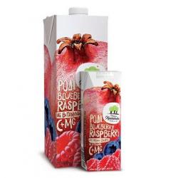 Χριστοδούλου ατομ. ρόδι blueberry rasberry 250ml