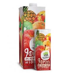 Χριστοδούλου ατομ. 9 φρούτα με 7 βιταμίνες 250ml