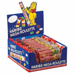 Haribo Mega-Roulette Rollen