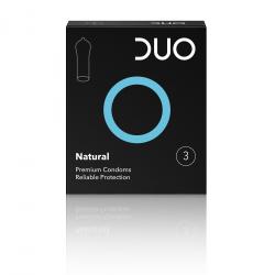 Προφυλακτικό Duo natural (κανονικό) 3τεμ