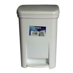 Πετάλ απορριμάτων WC τετράγωνο 28 λίτρων Νο.446
