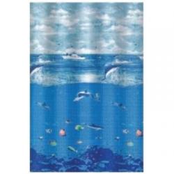 Κουρτίνα μπάνιου Υφασμάτινη 1,80x1,80