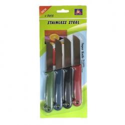 Μαχαίρια ίσια σέτ 4 τεμαχίων