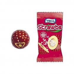 Τσίχλα Vidal strawberry 200τεμ