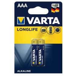 Μπαταρία Varta long life alkaline 3AAA 2άδα