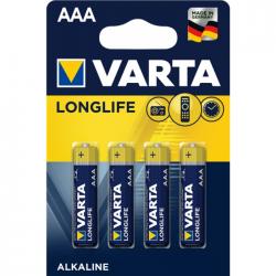 Μπαταρία Varta long life alkaline 3AAA 4άδα