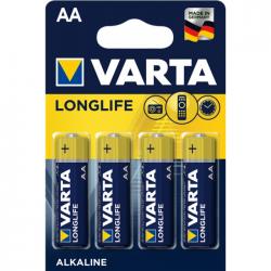 Μπαταρία Varta long life alkaline 2AA 4άδα