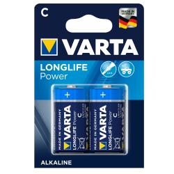 Μπαταρία Varta long life power alkaline C 2άδα