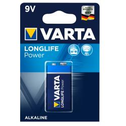 Μπαταρία Varta long life power alkaline 9V