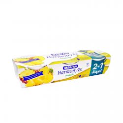 Μεβγάλ γιαούρτι harmony ανανά 1% (2+1Δώρο) 3x200γρ.