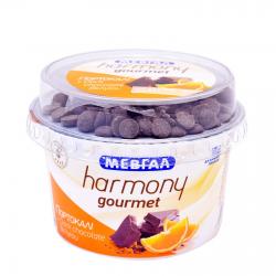 Μεβγάλ γιαούρτι harmony Gourmet πορτοκαλι 165γρ.