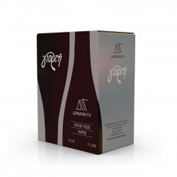 Κρασί Χρύσο Βαρέλι ροζέ αγιωργίτικο & ροδίτης 5lt