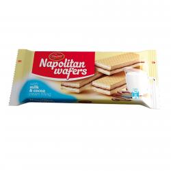 VINCINNI Napolitan Wafers με κρέμα γάλα & κακάο 160γρ.