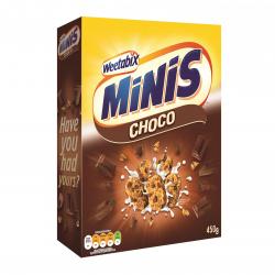 Weetabix Δημητριακά MINIBIX chocolate 450γρ.