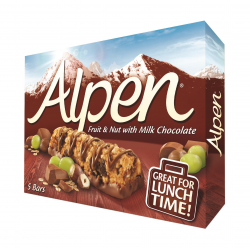 Alpen FRUIT&NUT&CHOC BARS ΔΗΜ. 10X5Χ29γρ.