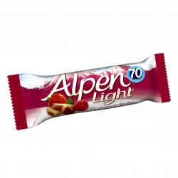 Alpen LIG.BARS SUMMER FRUIT ΔΗΜ.10X5Χ19γρ.