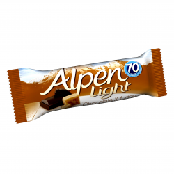 Alpen LIG.BARS CHOC & FUDGE ΔΗΜ.10X5Χ19γρ.