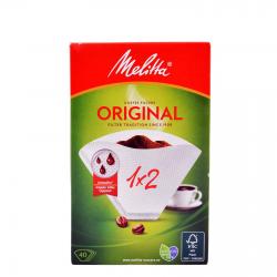 Melitta φίλτρα καφέ 1x2 18Χ40 ΤΕΜ