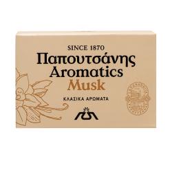 Σαπούνι Papoutsanis aromatics Musk 125γρ.