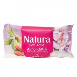 Σαπούνι Papoutsanis Natura Almond Cream 90γρ.