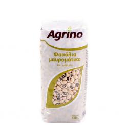 Agrino συσκ. φασόλια μαυρομάτικα 500γρ.