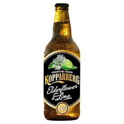 Kopparberg elderflower lime φιάλη ow 300ml